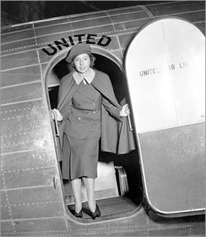 Ellen Church, 1930. (Photo credit: Upmagazine-tap.com)