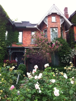 A Cabbagetown house.