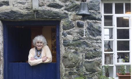Jan Morris in Wales.