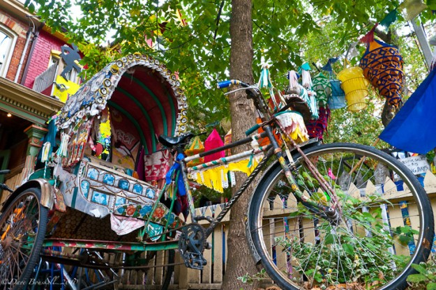 Kensington rickshaw. (Photo credit: ThePlanetD)