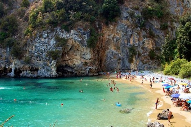 Italy's Palinuro beach. (Photo credit: G. Nepi)