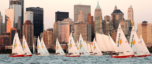Not a bad sight.  (Photo credit: sailmanhattan.com)