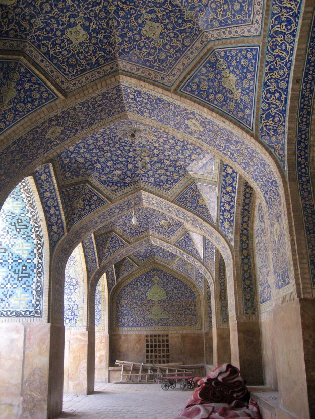 The beauty of the blue mosques.  (Photo credit:  Suzanne Anthony)