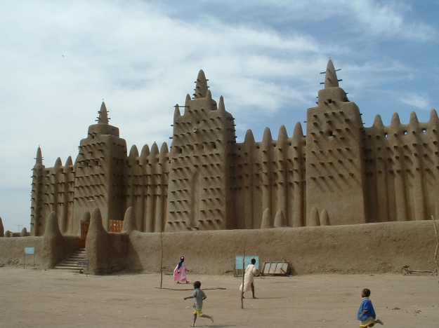 He traveled from here to Timbuktu and lots of other places.
