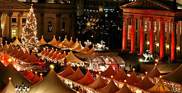 Berlin Christmas Market.  (Photo credit:  Europas.dk)