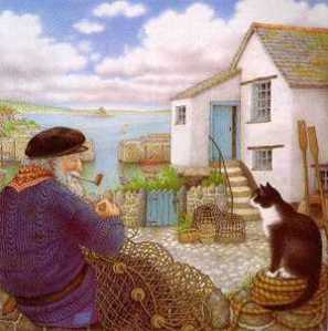 Tom & Mowzer. (Illustration:  Nicola Bayley)