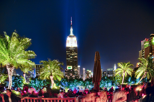 230 Fifth boasts the largest rooftop bar in NYC.