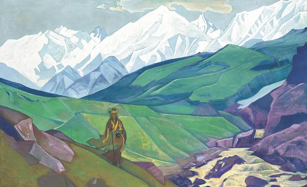 Ienno-Guio-Dia, friend of travelers. (Photo credit: Nicholas Roerich)