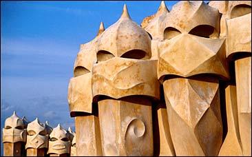 Gaudi's La Perdrera.