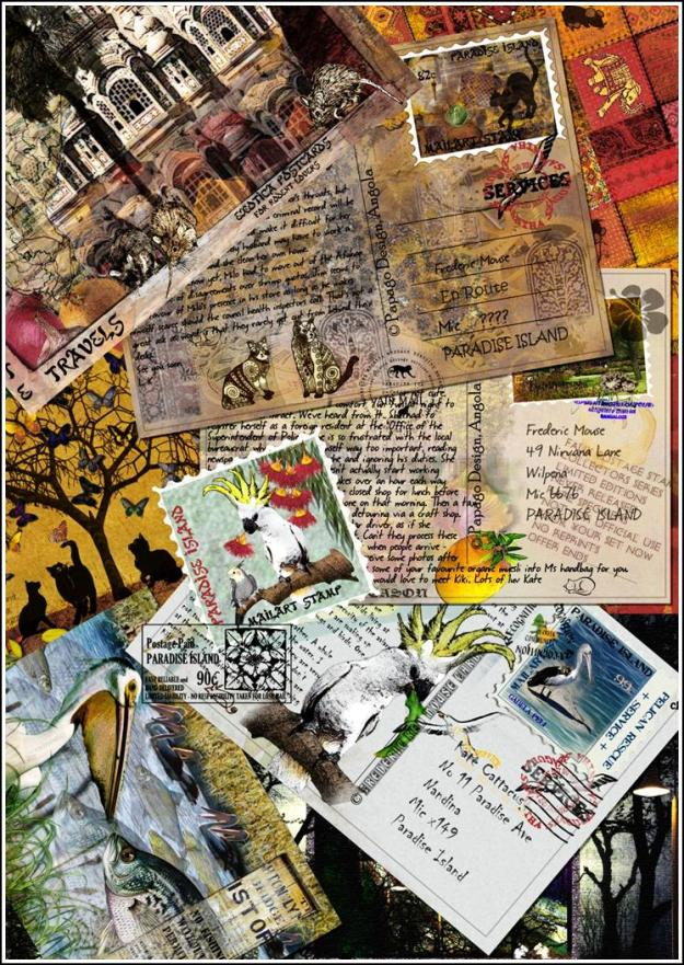 postcardcollage