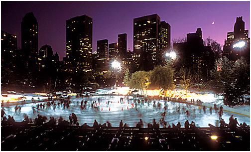 Central Park's Wollman Rink.