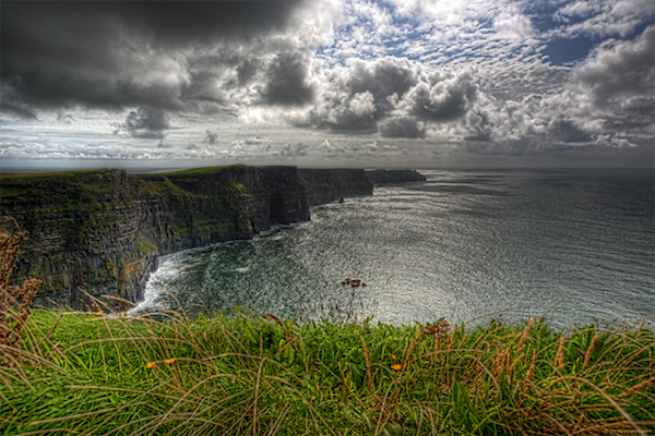 County Clare's Cliffs of Moher.