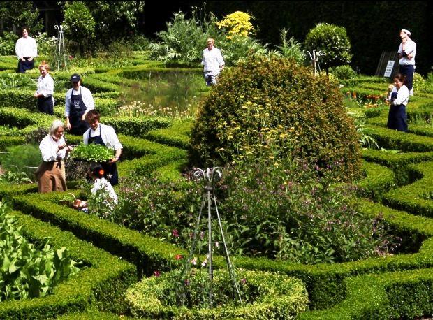 Ballymaloe Herb Garden.