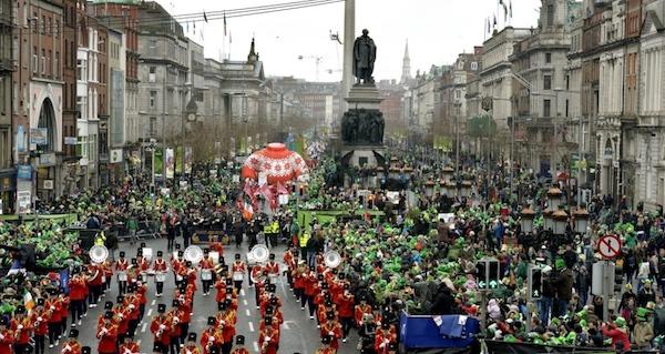 Dublin celebration.