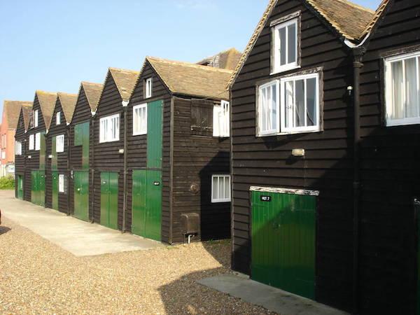 Fisherman's huts.