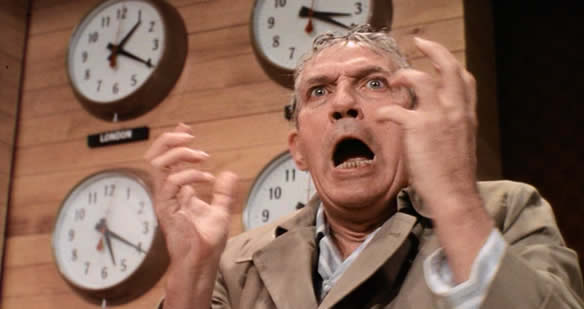 Network, the film whose famous line could be a rallying call for folks to take their paid time off.