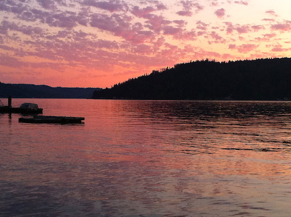 Hood Canal, WA, photo credit Claudia Santino
