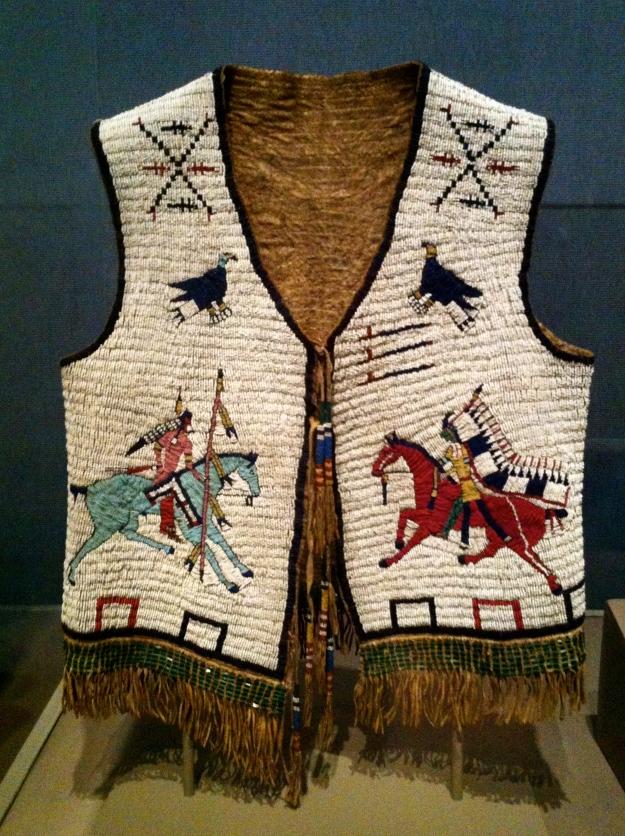 Man's vest, Oglala/Lakota. (Photo credit: Claudia Santino)
