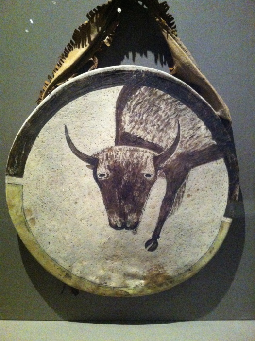 Buffalo spirit shield. (Photo credit: Claudia Santino)